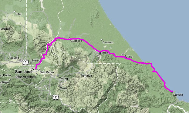 San José - Cahuita